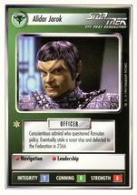 Star Trek CCG - Alidar Jarok - $1.09