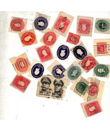 Stamps - Assorted vintage 25 U S Stamps - $1.45