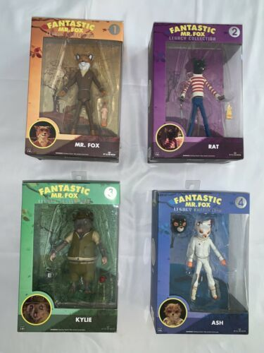 Primary image for Fantastic mr fox funko set of 4  rare In Case Fresh Boxes C-10 all Unopened New
