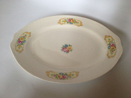 "Homer Laughlin Georgian Eggshell Platter 12"" x ... - $14.52"