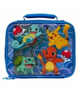Lunch Box Insulated Pokemon Pikachu Squirtle Bu... - $30.57