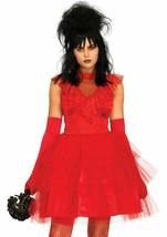 Leg Avenue Beetle Bride Beetlejuice Lydia Adult Womens Halloween Costume... - $44.99