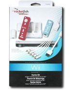RocketFish  Nintendo wii 7 Piece RF-GWII012 Starter Kit for Nintendo Wii  - $25.65