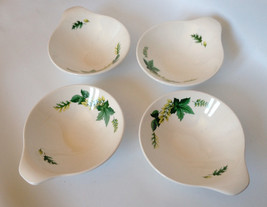 Set of 4 Vintage Handled 'Knowles' Bowls USA Ma... - $17.42