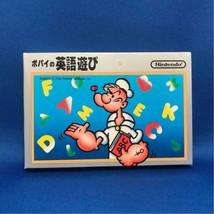 Nintendo Popeye's English Game (Popeye No Eigo Asobi) Game For Famicom N... - $1,620.00