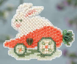 Rabbit Ride Spring Bouquet Collection 2014 charmed ornament bead kit Mil... - $6.30