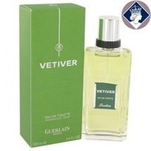Guerlain Vetiver 100ml/100,5 ml Eau De Toilette Spray EDT Eau De Cologne... - $81.73