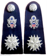 NEW US AIR FORCE SIX STAR CHIEF COMMODORE CP MADE HIGH QUALITY SHOULDER ... - $115.00