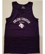 Champion Abilene Christian Wildcats Tank Top Purple Size S NWT Adult - $11.99