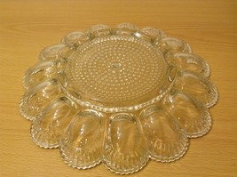 Clear Glass Easter Egg and Pascha Cake Serving Plate image 4