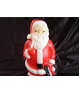 Vintage Christmas 1968 Empire Lighted Santa Blo... - $36.00