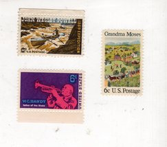 U. S.  Postage 6 cent Stamps (3 stamps) - $2.50