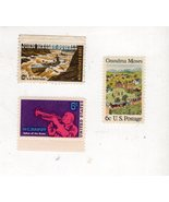 U. S.  Postage 6 cent Stamps (3 stamps) - $1.95