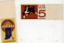 5 Cent Stamps  U. S. Post (2 Different Stamps) - $1.00