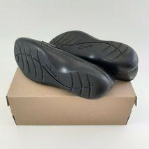 CLARKS Womens Ashland Bubble Slip-On Loafer- Black Sz 7M image 5