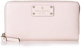 Kate Spade Wellesley Neda Leather Clutch Wallet, Posy Pink - ₨12,427.35 INR