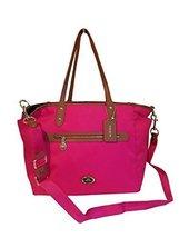 COACH Sawyer Baby Diaper Bag Multifunction Tote in Saddle Tan / Pink Rub... - $387.10