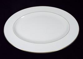 "Wedgwood Gloucester Pattern # W3988 15"" Oval Serving Platter White Bone ... - $129.99"
