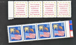 Stamps - U. S. Postage (2 Different Stamps 4 of each ) - $1.50