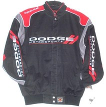 Dodge Motosports Embroidered Cotton Jacket JH DESIGN XXXL - $113.80