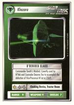 Star Trek CCG - Khazara - $0.75