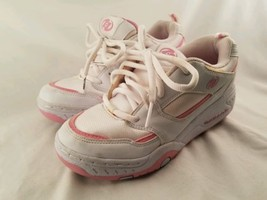 Youth SIze 6 Heelys White/Pink Girls Shoes with... - $39.60