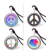 Vietguild's Peace Symbols Necklace Pendants Pew... - $7.99