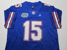 TIM TEBOW / HEISMAN WINNER / AUTOGRAPHED FLORIDA GATORS PRO STYLE JERSEY / COA image 2