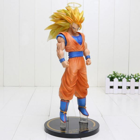 SSG3 Goku Super Saiyan 3 PVC Collectible Action Figure 12` 30cm