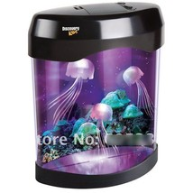 Lamp Nightlight Led Aquarium Light Jellyfish De... - $35.72