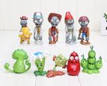 Plants vs Zombies Action Figures Set Figure Pvz Cake PVC Toys Toppers Kids Gift