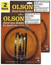 """Olson Band Saw Blades 59-1/2"""" inch x 1/4"""", 14TPI for 9"""" Delta, Ryobi, Sk... - $24.99"""