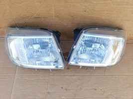 08-11 Mercury Mariner Headlight Lamp Matching Set Pair L&R - POLISHED image 2
