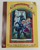 A Series of Unfortunate Events The Perilous Parlor Board Game Lemony Sni... - $14.01