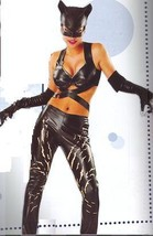 Catwoman Costume Cat Woman Costume Adult Sexy Size Lg 14-16 Dress Size - $60.00