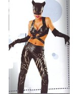 Catwoman Costume Adult Sexy Size Lg 14-16 Dress Size - $60.00