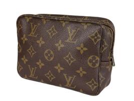 LOUIS VUITTON TROUSSE TOILETTE 18 Monogram Canvas Cosmetic Pouch Bag LP3954 - $359.00