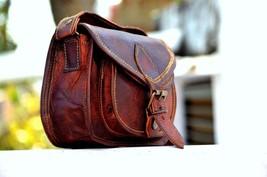 New PC. Women's Genuine Brown Vintage Leather Messenger Shoulder Cross B... - $68.84