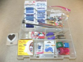 Mixed Bin Full of Crafting Supplies - $29.69