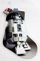 """Disney Star Wars R2-D2 R2D2 Christmas Stocking Droid Character 19"""" NWT Flaw - $12.72"""