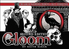 Gloom 2nd Edition Card Game Family Fun Strategy Multiplayer Atlas Games ... - $24.99
