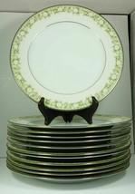 """Noritake Princeton 10 1/2"""" Dinner Plates 6911 Japan flower pattern - $24.99"""