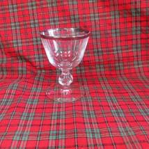 Lot 4 Wonderful Imperial Simplicity Platinum Rim Cordial Goblets - $28.04