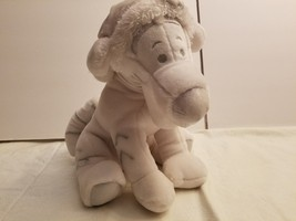 Snowflake Tigger Plush Kids Disney Silver White Stuffed Winnie Pooh Frie... - $15.79