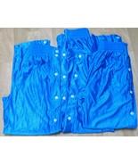 Youth Basketball Pant Break Away Unisex Kids Large 3 Pair Royal Blue 100... - $22.70