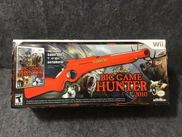Cabela's Big Game Hunter W/ Gun Bundle Nintendo Wii 2010 - $83.16