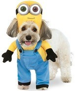 Rubies Minion Bob Arms Despicable Me Movie Suit Pet Dog Halloween Costum... - $362,28 MXN+