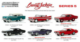 Greenlight Barrett-Jackson Series 5 Scottsdale Edition FULL SET of 6 NIB 37200 - $44.99