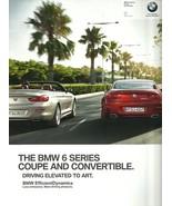 2012 BMW 6-SERIES sales brochure catalog US 12 640i 650i coupe convertible - $10.00