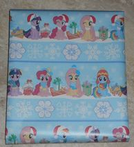 My Little Pony Christmas Wrapping Paper American Greetings 20 sq ft Roll - $5.50